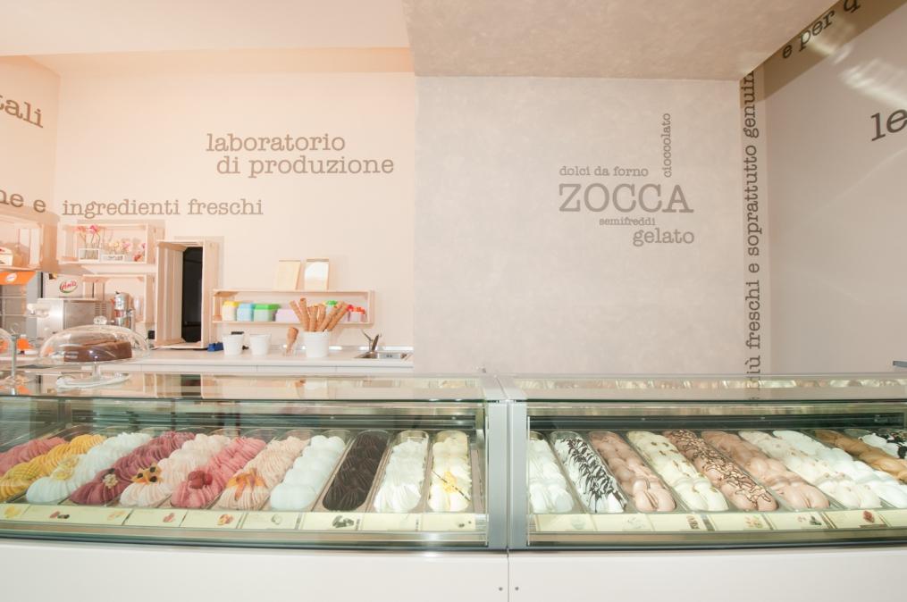 Progetto Gelateria Zocca - Verona