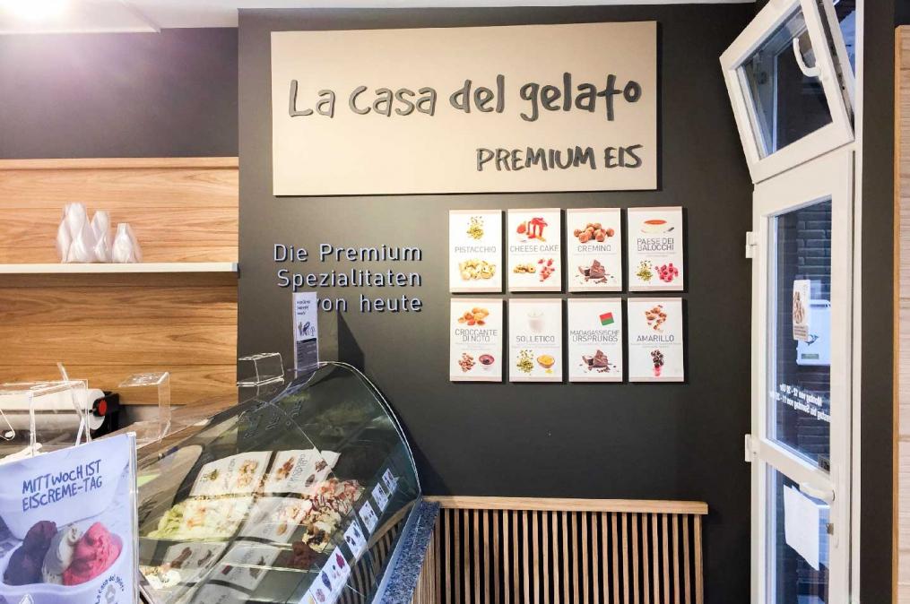 Gelateria I La casa del gelato | Moers | Düsseldorf | Artigeniale