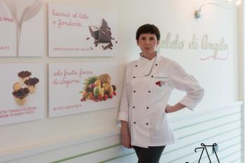 il mestiere del gelatiere: Angela Remelli