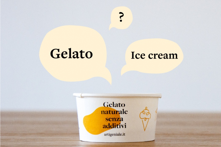 differenze tra gelato e ice cream